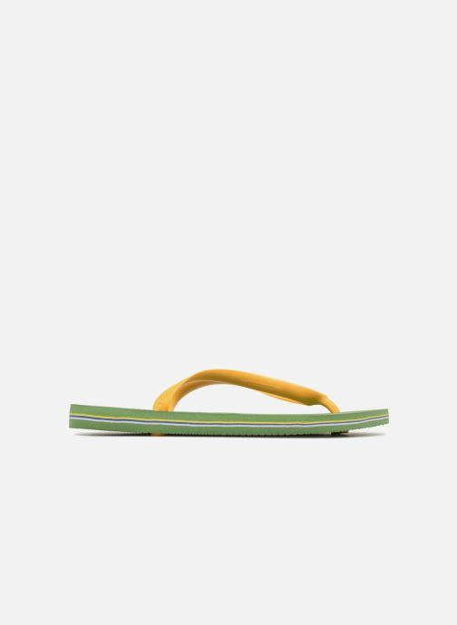 Slippers Havaianas Brazil Logo H Groen achterkant