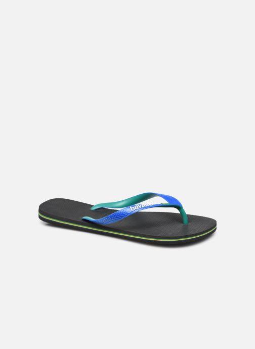 Slippers Havaianas Brazil Logo H Zwart detail