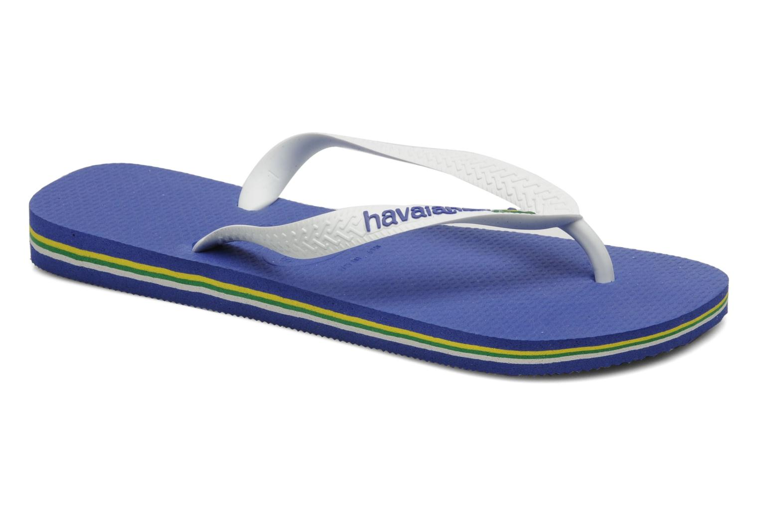 Flip flops Havaianas Brazil Logo H White detailed view/ Pair view