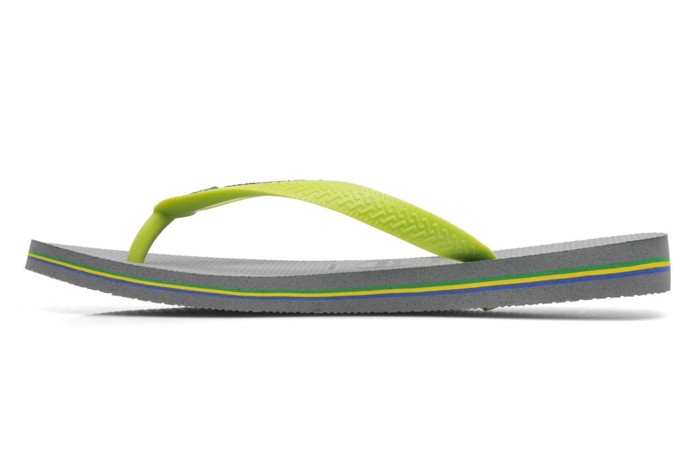 Flip flops Havaianas Brasil Logo H Grå bild av skorna på