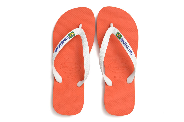 Slippers Havaianas Brazil Logo H Wit 3/4'