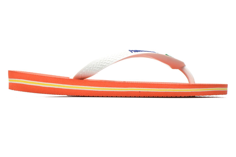 Slippers Havaianas Brazil Logo H Wit achterkant