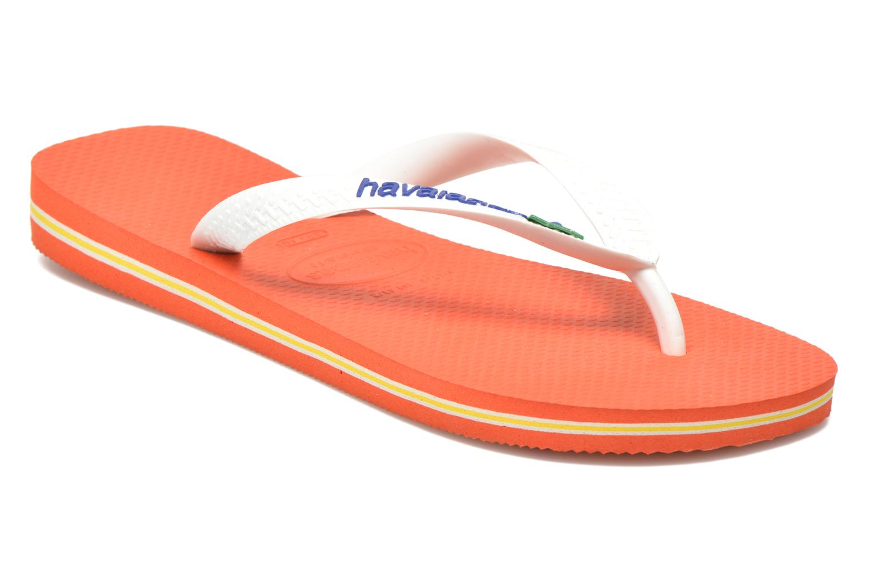 Slippers Havaianas Brazil Logo H Wit detail