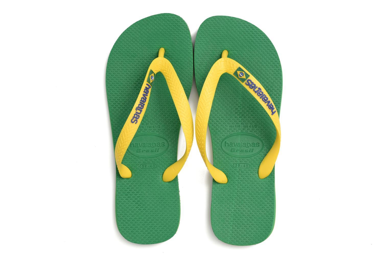 Tongs Havaianas Brasil Logo H Vert vue 3/4