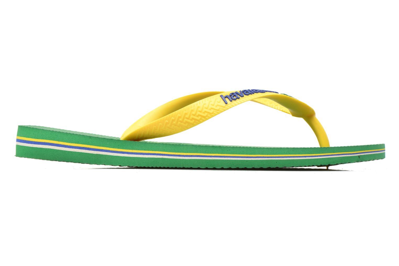 Tongs Havaianas Brasil Logo H Vert vue derrière