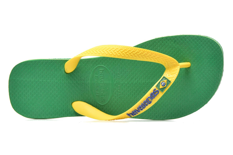 Tongs Havaianas Brasil Logo H Vert vue gauche