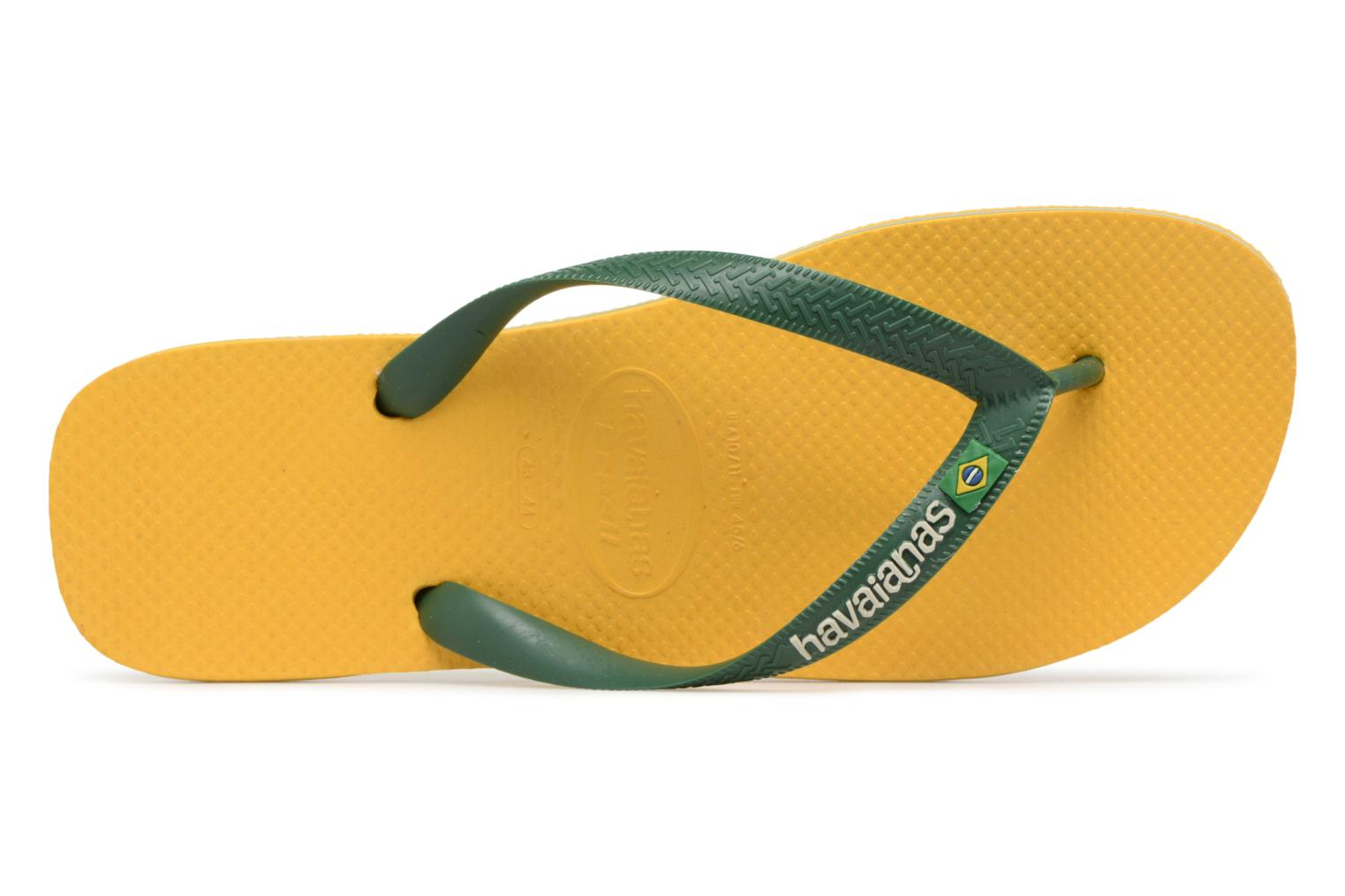 Slippers Havaianas Brazil Logo H Geel links