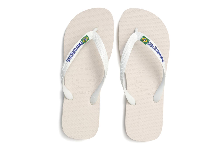 Flip flops & klipklapper Havaianas Brazil Logo H Hvid 3/4 billede