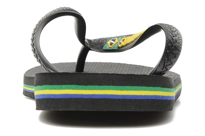 Slippers Havaianas Brazil Logo H Zwart rechts