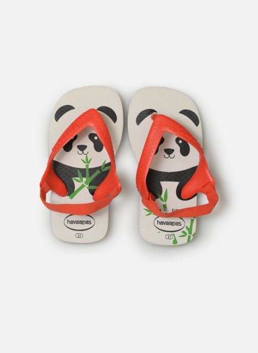 Tongs Havaianas Baby Pets Rouge vue portées chaussures