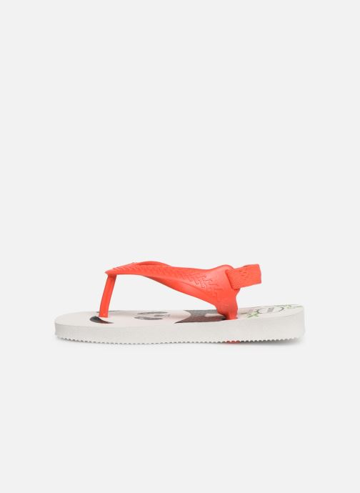 Tongs Havaianas Baby Pets Rouge vue face