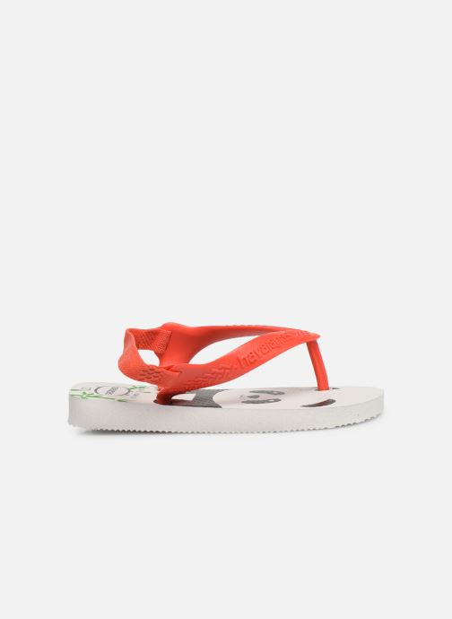 Slippers Havaianas Baby Pets Rood achterkant