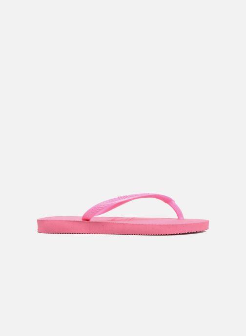 Slippers Havaianas Kids Slim Roze achterkant