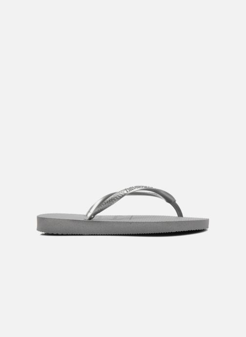 Flip flops Havaianas Kids Slim Grey view from the right