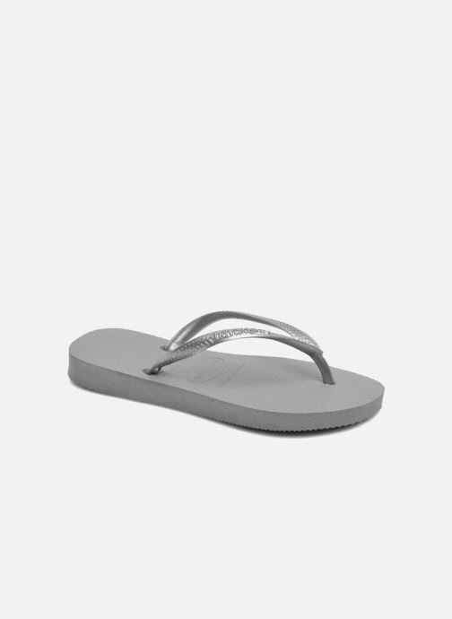 Flip flops & klipklapper Havaianas Kids Slim Grå detaljeret billede af skoene
