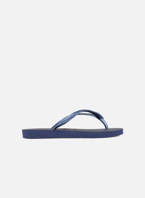 Flip flops Havaianas Kids Slim Blue back view