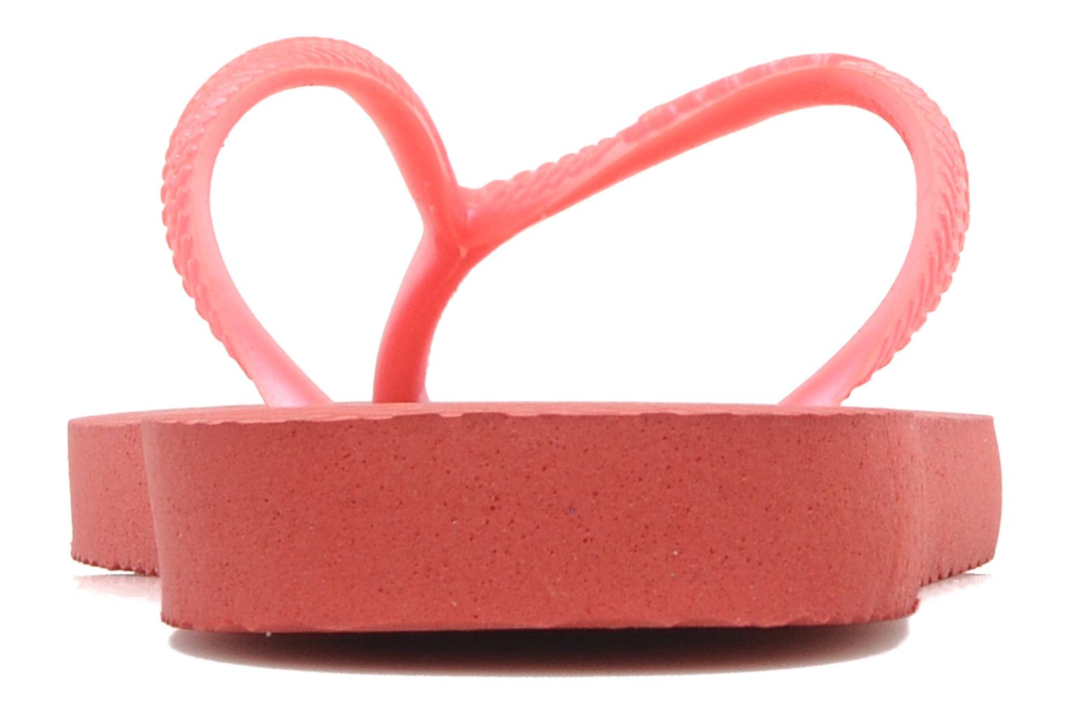 Flip flops Havaianas Kids Slim Pink view from the right