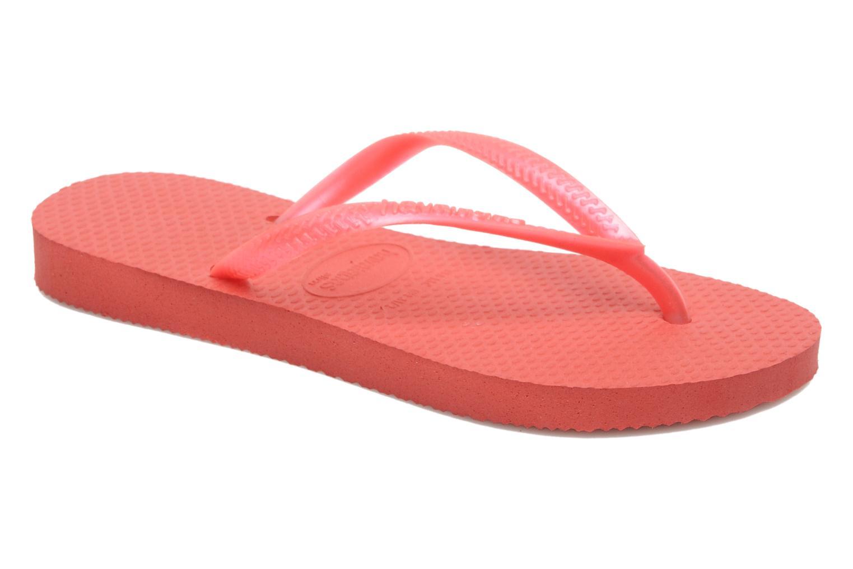 Flip flops Havaianas Kids Slim Pink detailed view/ Pair view