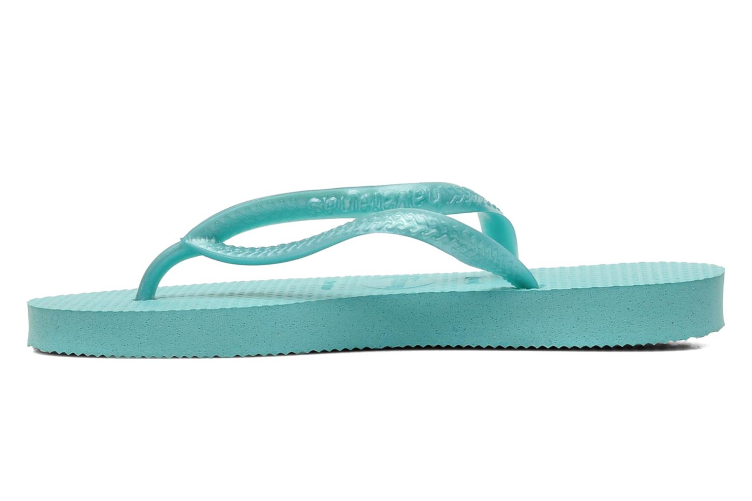 Tongs Havaianas Kids Slim Bleu vue face