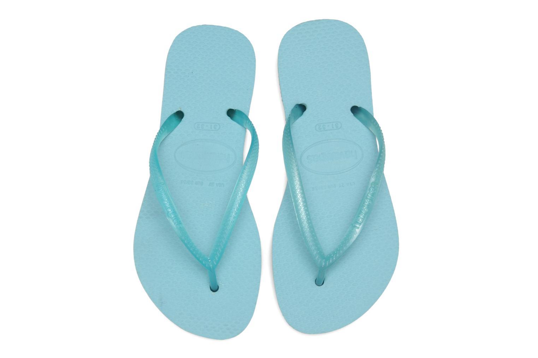 Flip flops Havaianas Kids Slim Blå 3/4 bild