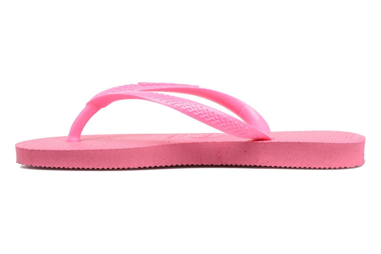 Slippers Havaianas Kids Slim Roze voorkant