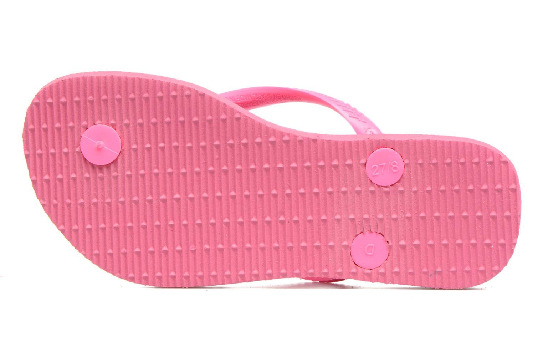 Slippers Havaianas Kids Slim Roze boven