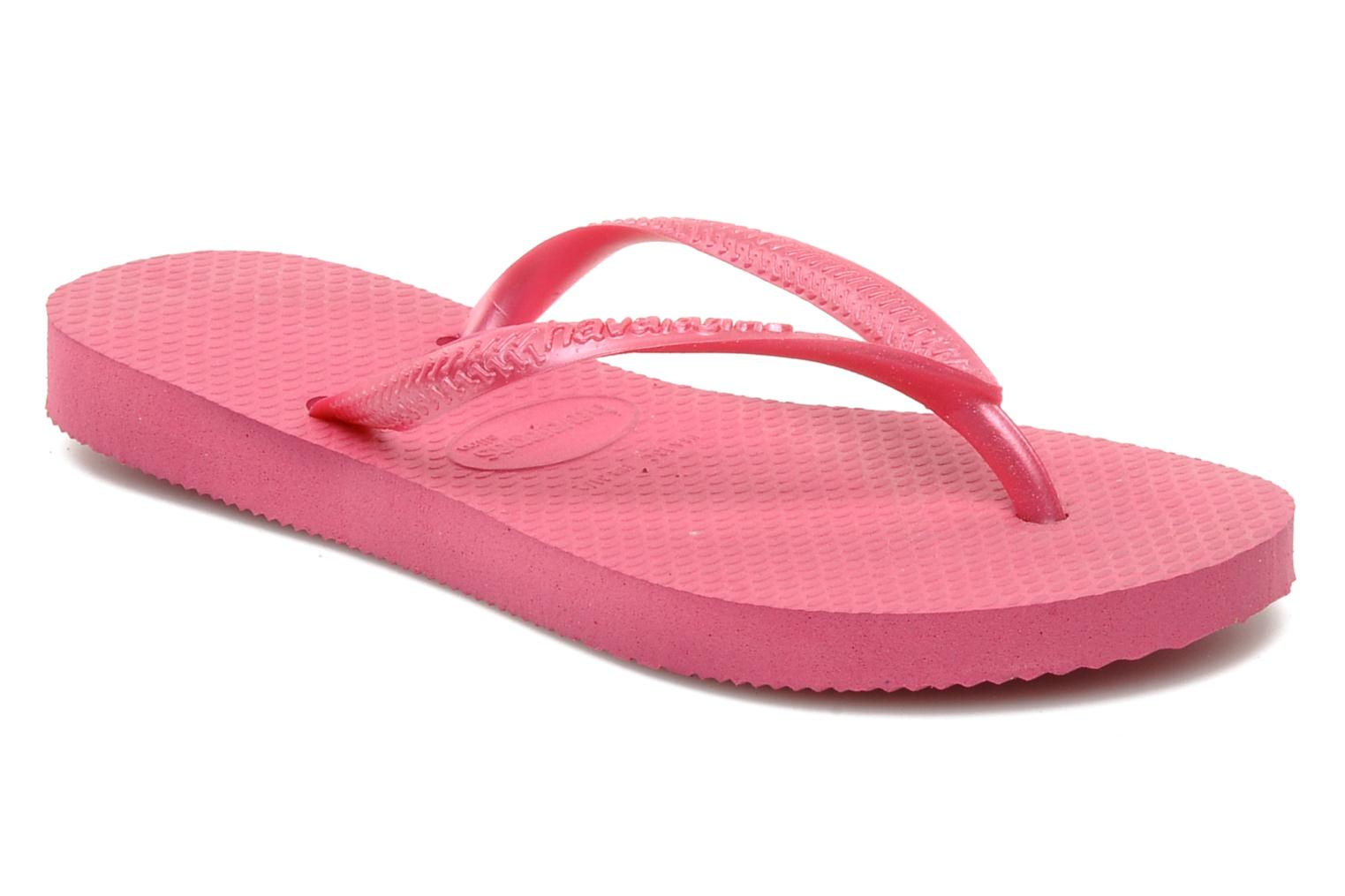 Slippers Havaianas Kids Slim Roze detail