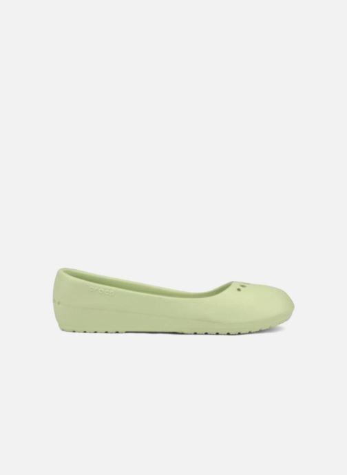Ballet pumps Crocs Prima Green back view