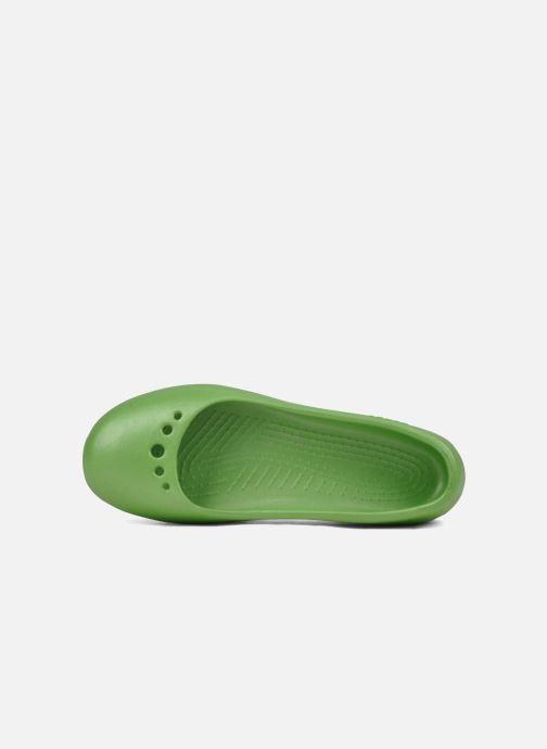 Ballerina's Crocs Prima Groen links