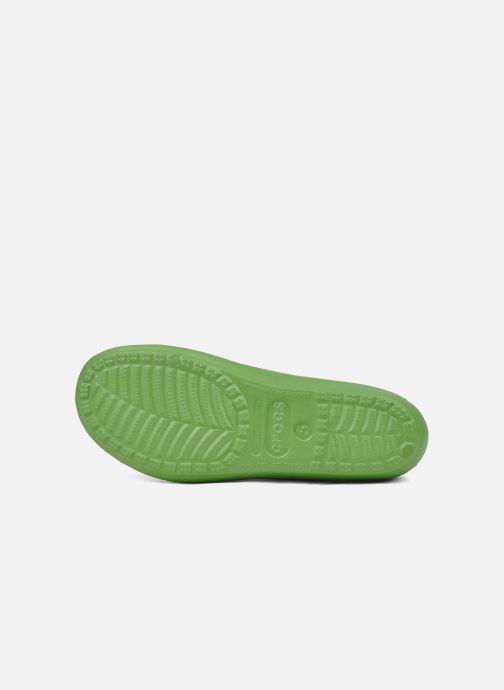 Ballerina's Crocs Prima Groen boven