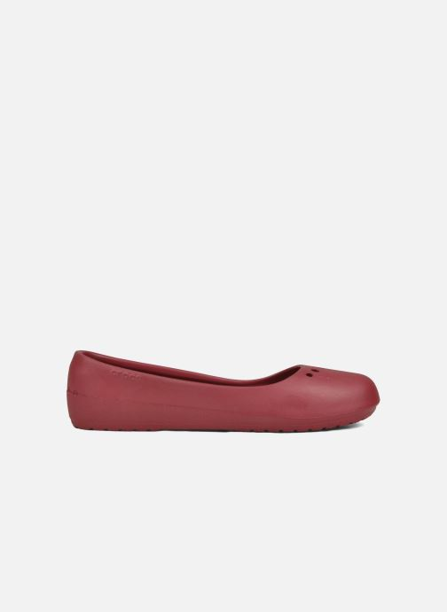 Ballet pumps Crocs Prima Red back view