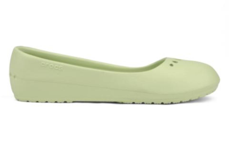 Ballerines Crocs Prima Vert vue derrière