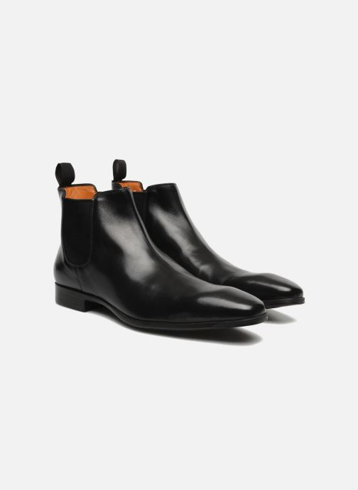 Ankle boots Santoni Marlone 9291 Black 3/4 view