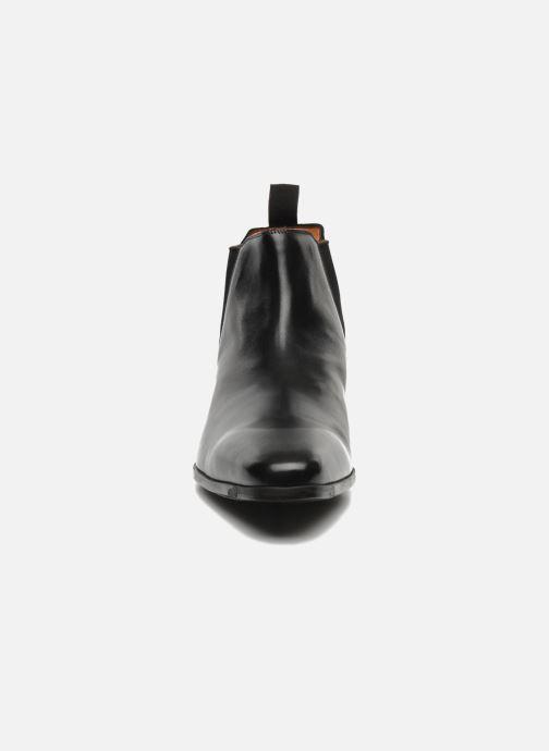 Bottines et boots Santoni Marlone 9291 Noir vue portées chaussures