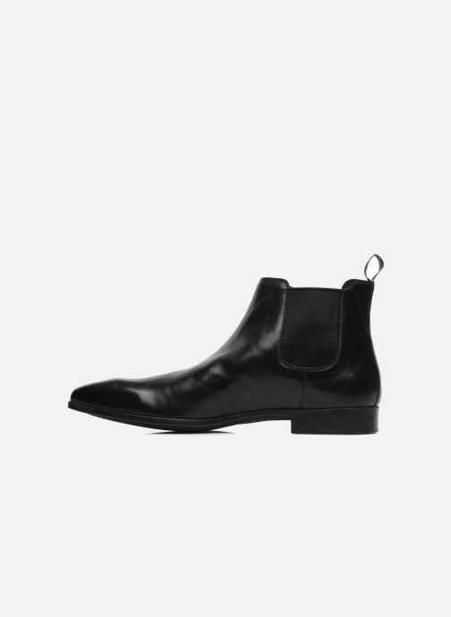 Ankle boots Santoni Marlone 9291 Black front view