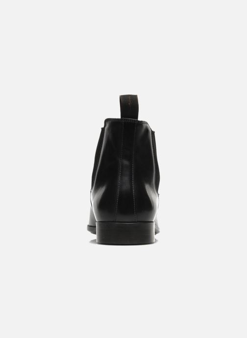 Ankle boots Santoni Marlone 9291 Black view from the right