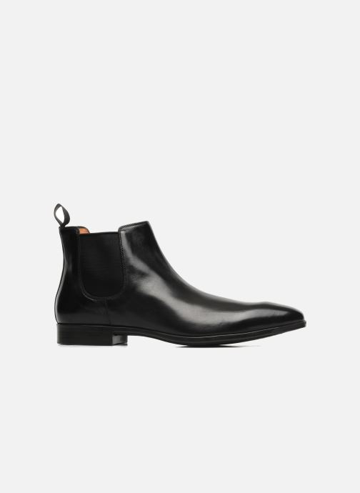 Boots en enkellaarsjes Santoni Marlone 9291 Zwart achterkant