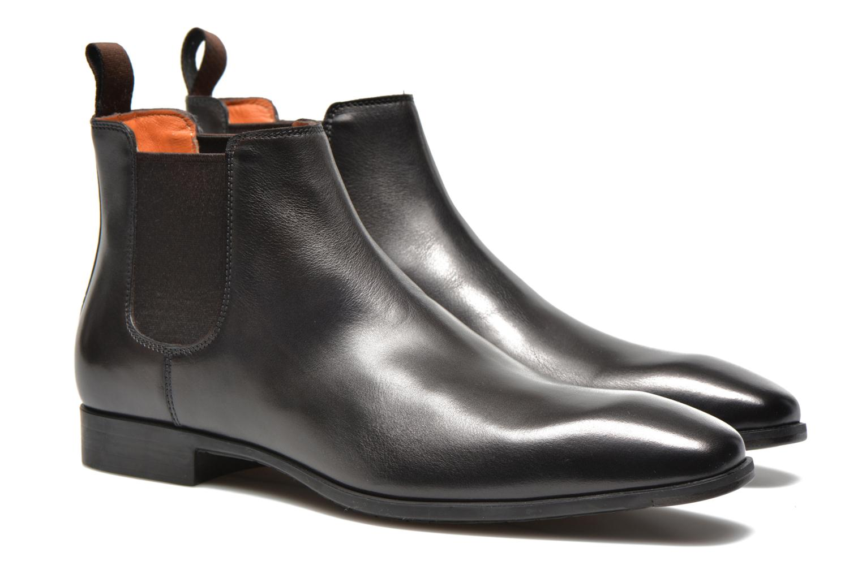 Stiefeletten & Boots Santoni Marlone 9291 braun 3 von 4 ansichten