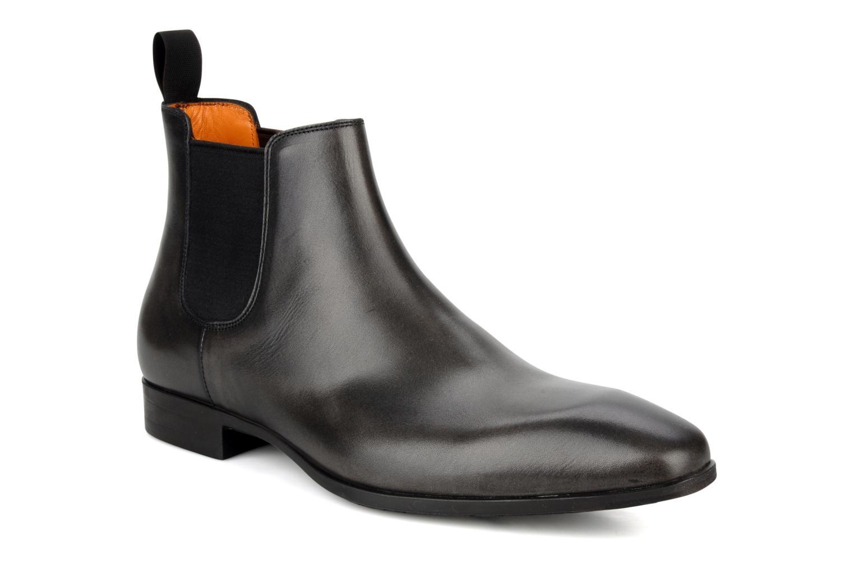 Bottines et boots Santoni Marlone 9291 Gris vue détail/paire