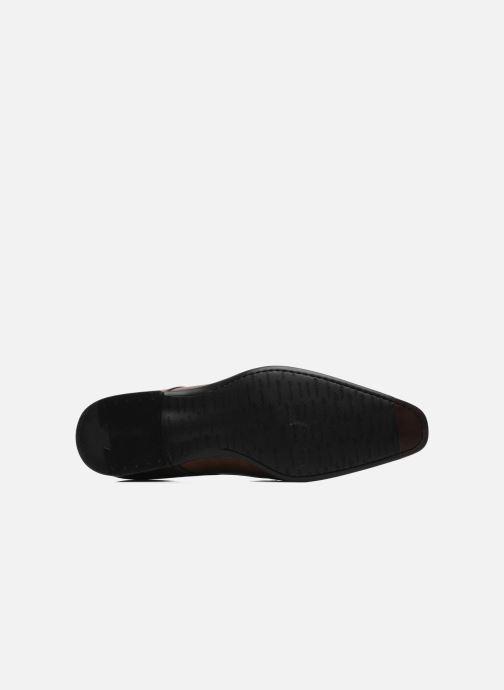 Chaussures à lacets Santoni Marlone 9290 Marron vue haut