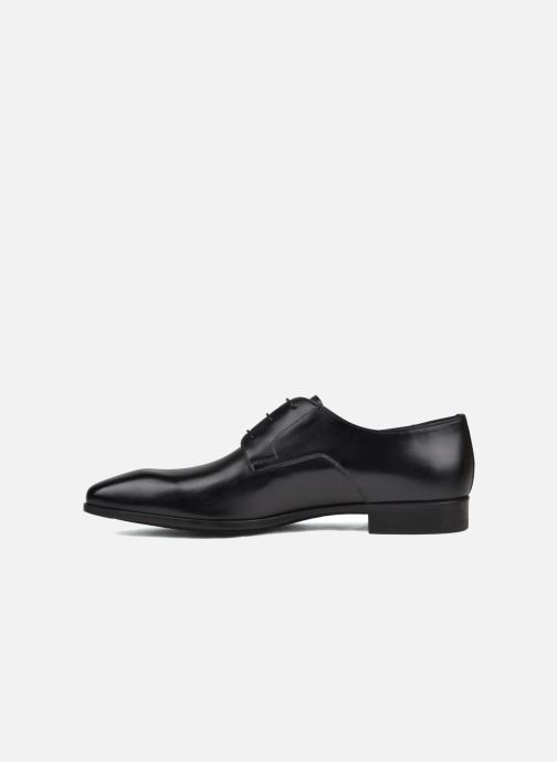 Lace-up shoes Santoni Marlone 9290 Black front view
