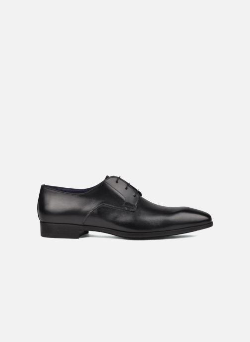 Zapatos con cordones Santoni Marlone 9290 Negro vistra trasera