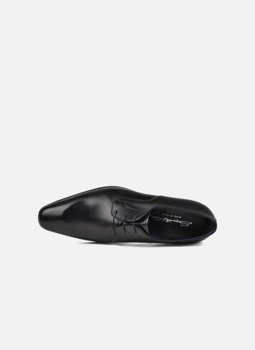 Lace-up shoes Santoni Marlone 9290 Black view from the left