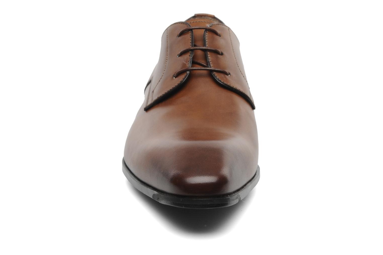 Lace-up shoes Santoni Marlone 9290 Brown model view