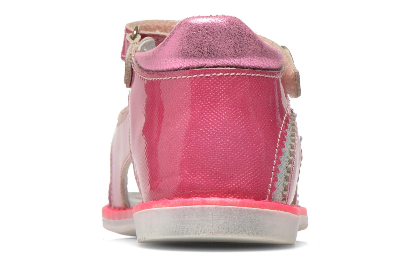Sandales et nu-pieds Catimini Chenille Rose vue droite