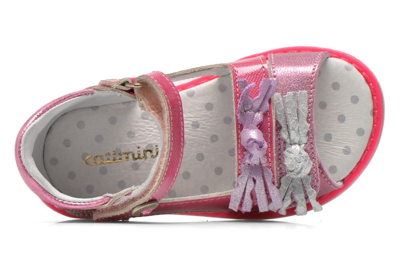 Sandales et nu-pieds Catimini Chenille Rose vue gauche