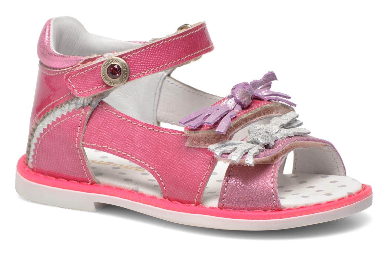 Sandales et nu-pieds Catimini Chenille Rose vue détail/paire