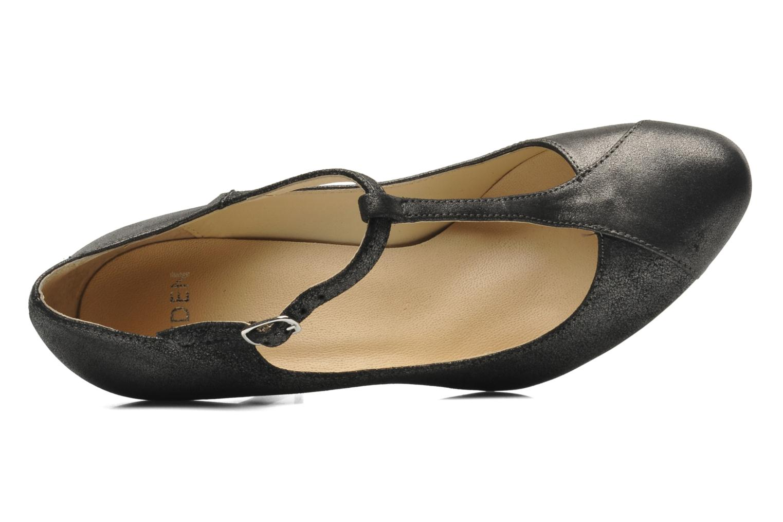 High heels Eden Elen Black view from the left
