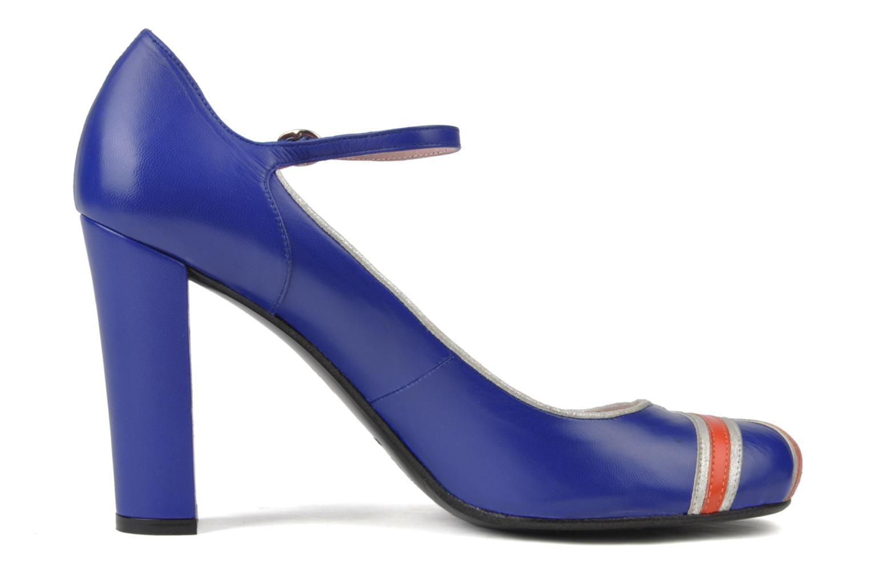 High heels Annabel Winship Expistol Blue back view
