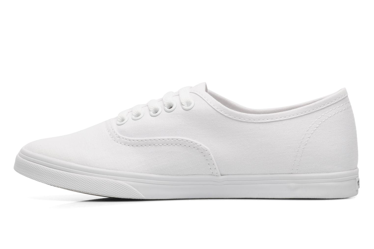 Baskets Vans Authentic Lo Pro W Blanc vue face
